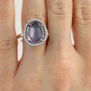 Pandora Glamorous Legacy Amethyst Ring 60